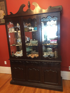 Jamaican China Cabinet