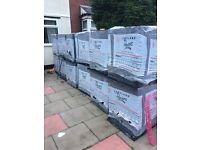 New block paving (gray)