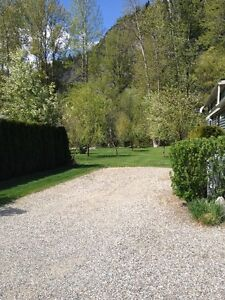 Now Reduced $15,000 Peaceful Creekside RV Lot