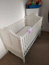 Cot bed & Mattress