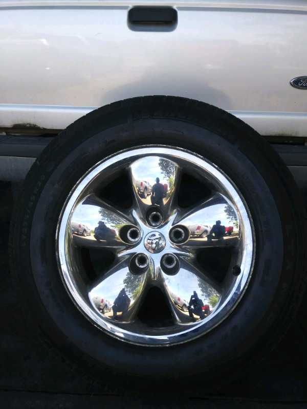 20 inch dodge ram rims and tires $700 obo | Tires & Rims | St ...