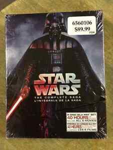 Brand New Star Wars The Complete Sage Blue Ray BoxSet
