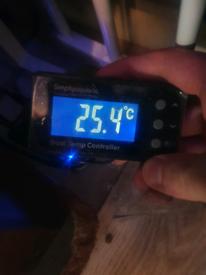 Aquarium Temperature Controller and titanium heater marine