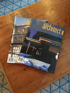 "Vintage ""Canadian Architect"" Magazine Collection"