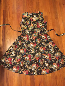 Vintage Style Floral Party Dress