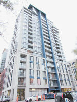 Modern, cozy, fully furnished 3 ½ condo in downtown