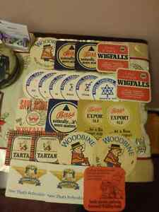 Beer Mats - Vintage - Lot of 22 - Most are English in Origin
