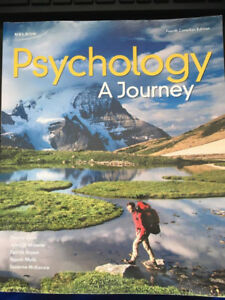 Psychology: A Journey (4th Canadian Edition)