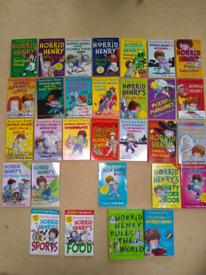 Horrid Henry 30 Book Collection