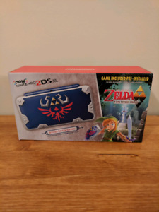 New nintendo 2dsxl Zelda a link between worlds special edition