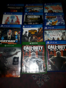 Ps4 console games and controller