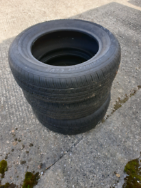 Tyres 225/65/17 × 3 Almost New