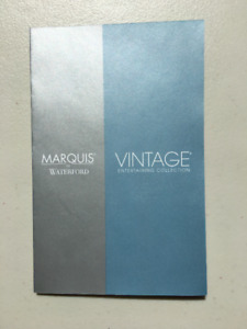 Marquis by Waterford - Vintage Entertaining Collection