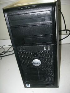 Dell Mid Tower Dual core with Fresh Windows 7 and Warranty