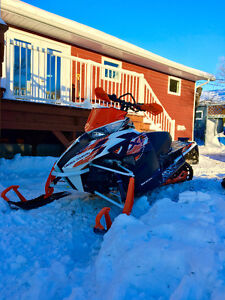 2015 cross country artic cat sled