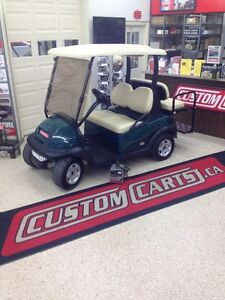 2012 CLUB CAR PRECEDENT GOLF CART ELECTRIC 48VOLT GREEN Kingston Kingston Area image 2