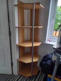 Wanted corner shelf unit