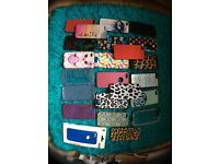 Job lot of iPhone 5/5s phone cases