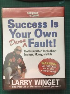 CD/DVD/book - Larry Winget - success is your own damn fault.