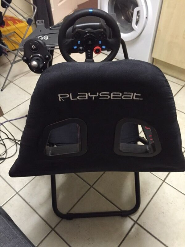 Playseat Challenge Foldable Racing Seat Chair For All Popular Steering Wheels Ps4 Pc Xbox One In Norwich Norfolk Gumtree