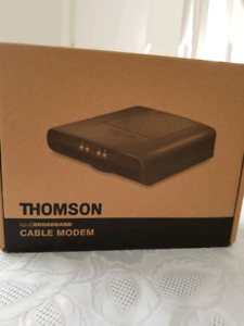 Thomson DCM 476 cable modem