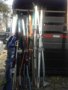 Skis 6 pairs