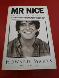 Howard Marks signed autobiography
