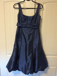 Navy Blue Bridesmaid Dress Size 6