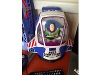 Buzz lightyear cd player