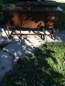 Antique dinning table and buffet London Ontario image 3