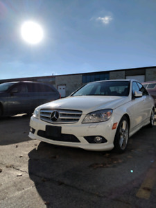 2009 C300 sport AWD BRAND NEW BRAKES all around certified
