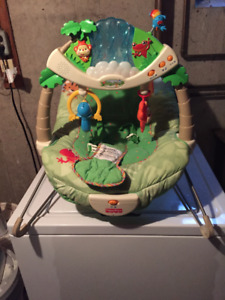 fisher-price baby rainforest bounce chair