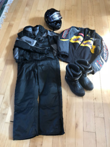Full set of very well maintained Snowmobile Gear