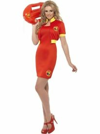 Ladies Baywatch Costume red dress
