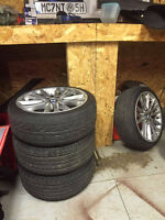 """18"""" OEM BMW with summer tires"""