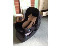 Car seat and base from Mothercare