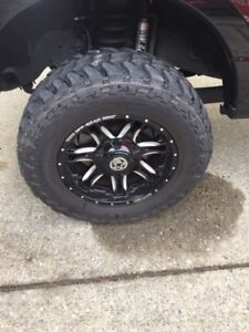 Ford F350 Anthem Rims!