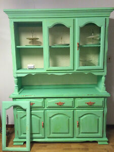 Mint china hutch
