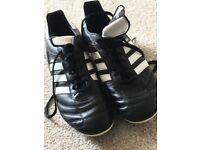 Black Adidas kaiser 5 football boots size 10