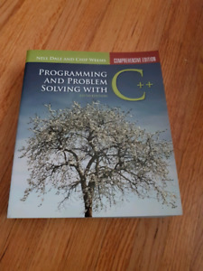Programming and problem solving with c++ - 5th Ed - Weems