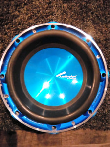 "Audiopipe 10"" car subwoofer"