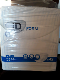 ID Form incontinence pads