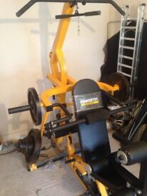 Powertec workbench lever gym