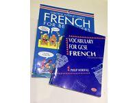GCSE French vocabulary books