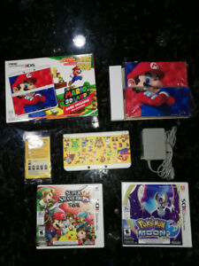 Nintendo 3DS includes 17 games, charger and cover plates