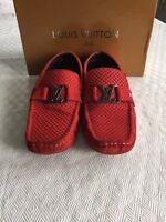 Louis Vuitton Loafers Authentic Suede - US 11 - Best Offer!!