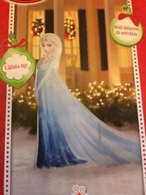 Inflatable Elsa from Frozen party prop