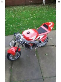 Midi moto for spares 49cc