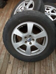 17 inch volvo rims from 2010 xc60