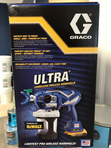 Graco cordless paint Sprayer